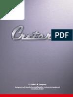 Cretors 2010 Equipment Catalog