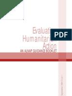 ALNAP1 - Evaluating Humanitarian Action