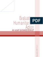 ALNAP1 - Evaluating Humanitarian Action