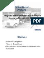 04 - Cementación Primaria