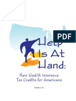 Help is at Hand- New Health Insurance Tax Credits for Americans