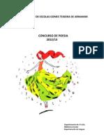Regulamento Concurso Poesia 2012.13