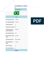 Water Supply and Sanitation in Brazil