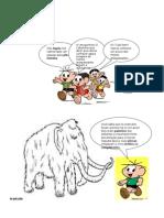 desenhos pré-história para colorir