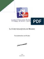 La comunidad judía de Madrid