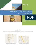Reporte PavimentacionFinal 070313