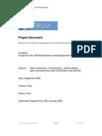 JORUM Research and Development