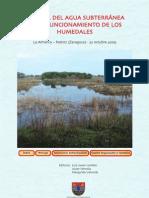 El Papel Del Agua Subterranea en Los Humedales