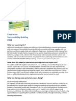 BST Contractor Sustainability Brief