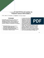 Avaliação agronômica sob pastejo de Paspalum atratum BRA-009610