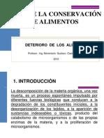 CLASE 2 2013 BASES DE LA CONSERVACIÓN DE ALIMENTOS ULCB.ppt