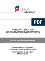 Curriculum Specifications EFL