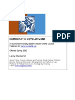 Syllabus Democratic Development Spring 2013
