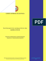 Instrumentos Normativos Del MERCOSUR