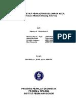 K1 P2 FINISH Teknik Dan Etika Pemanduan Kelompok Kecil (Afrodita Indayana