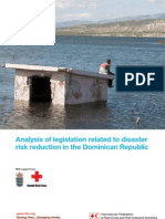 Analysis of Legilation Related to DRR in Dominant Republic