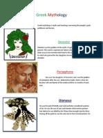 Greek Mythology Real