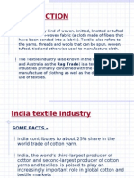 investment in Indian Textile Industry