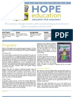 HopeEd Mar 2013 Newsletter
