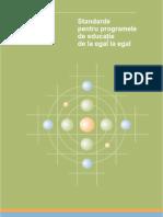 Standarde Pentru Programele de Educatie de La Egal La Egal Asociatia Www.tineriPentruTineri.ro
