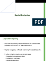 9. Capital Budgeting