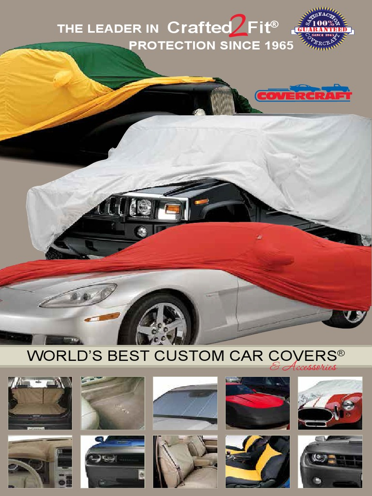 Covercraft Custom Fit Sunbrella Series Car Cover Jet Black