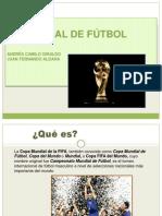 Mundial de Futbol.