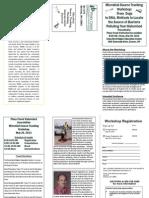 Piney Creek sewer dogs brochure
