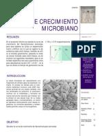 Informe de Crecimiento Microbiano (Alimentos)