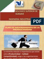 Plan de Mejoramiento de La Productividad