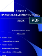 Chapter 3 Financial Statement Taxes and Cashflow