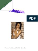 Trabajo Rihanna.