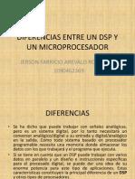 Diferencias Entre Un Dsp y Un Microprocesador