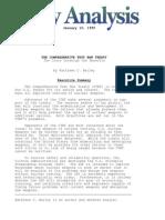 The Comprehensive Test Ban Treaty