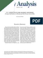 U.S. Assistance for Market Reforms