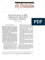 Social Security Is Still a Hopelessly Bad Deal for Today's Workers, Cato Social Security Choice Paper No. 18
