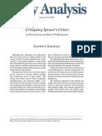 Critiquing Sprawl's Critics, Cato Policy Analysis No. 365