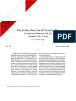 The Archer-Shaw Social Security Plan