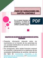 Estado de Variaciones Del Capital Contable