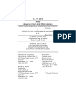 Solid Waste Agency of Northern Cook County v. United States Army Corps of Engineers, Brief of Amicus Curiae,, Cato Legal Briefs