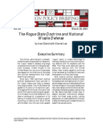 The Rogue State Doctrine and National Missile Defense, Cato Foreign Policy Briefing No. 65