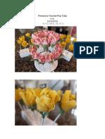 Primavera Tutorial Pop Tulip