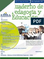 Cuaderno de Pedagog+¡a y Educaci+¦n No. 6
