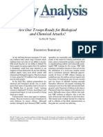 Are Our Troops Ready for Biological and Chemical Attacks?, Cato Policy Analysis No. 467