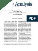 FDIC Reform