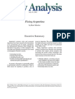 Fixing Argentina, Cato Policy Analysis No. 445