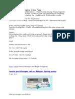 Cara Menghitung Kecepatan Syringe Pump.doc