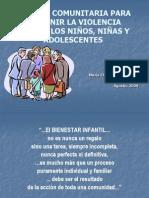 Gestión Comunitaria para la prevención de la violencia contra la infancia y la adolescencia