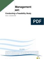 Feasibility Study Fact Sheet