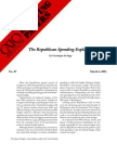The Republican Spending Explosion, Cato Briefing Paper No. 87
